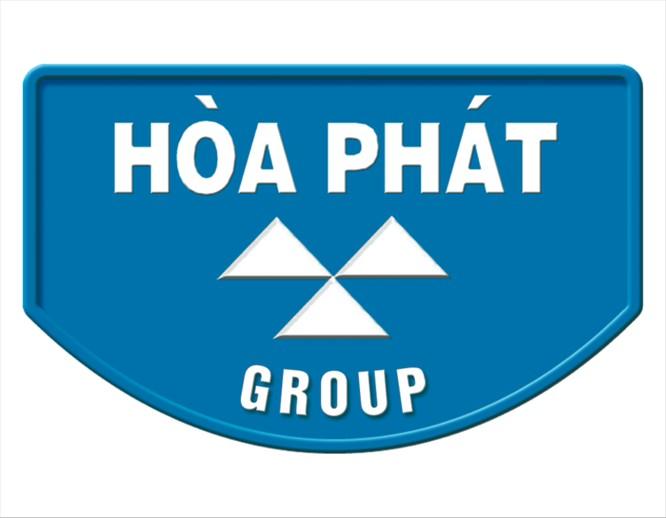 Logo và slogan trước đây của Hòa Phát.