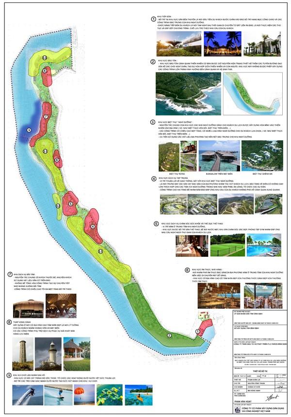 Phê duyệt đồ án quy hoạch chi tiết 1/500 dự án FLC Cù Lao Xanh, TP. Quy Nhơn ảnh 1