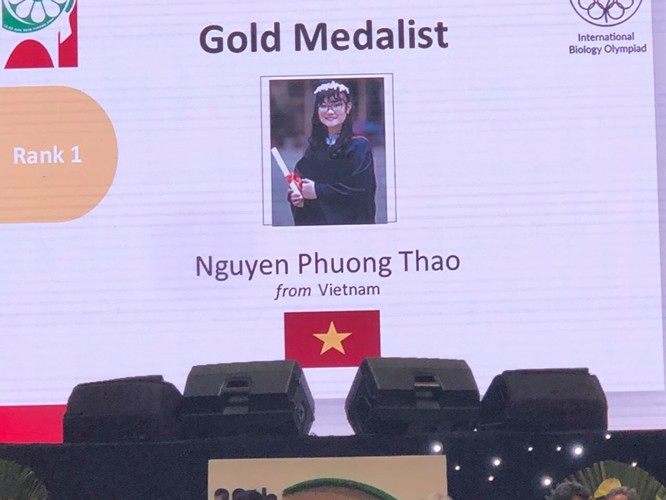 Việt Nam làm nên lịch sử tại Olympic Sinh học quốc tế năm 2018: Xếp thứ 1, 3 HCV, 1 HCB ảnh 1