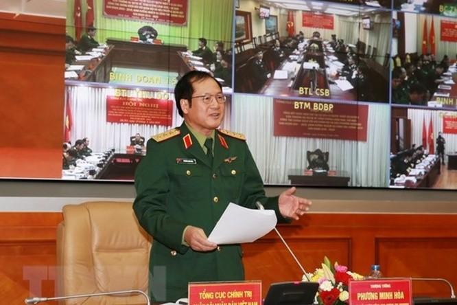 Cách chức tất cả các chức vụ trong Đảng của tướng Bùi Văn Thành, giao giáng cấp bậc hàm tướng Trần Việt Tân ảnh 1