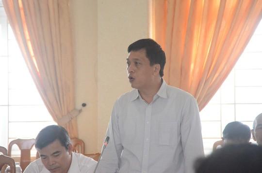 Đang khám nhà ông Đào Tấn Bằng - nguyên Chánh Văn phòng Thành ủy Đà Nẵng ảnh 1