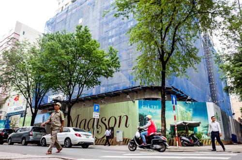 Dự án khu phức hợp ở số 15 đường Thi Sách. Ảnh: Thành Nguyễn