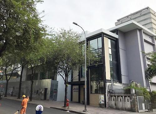 Khu đất số 8 Nguyễn Trung Trực hiện là văn phòng Công ty Bắc Nam 79. Ảnh: Thành Nguyễn.
