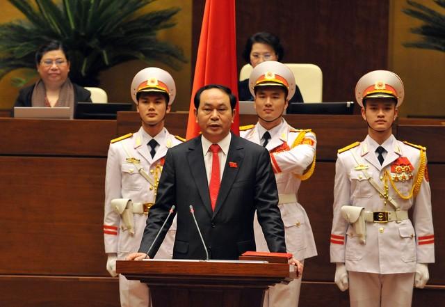 Chủ tịch nước Trần Đại Quang từ trần ảnh 1