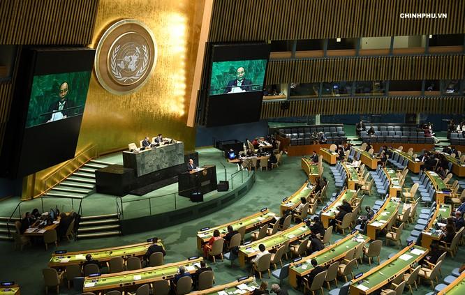 Thủ tướng phát biểu tại Liên Hợp Quốc: Tư duy cường quyền là mối đe dọa đối với hòa bình, ổn định quốc tế ảnh 1