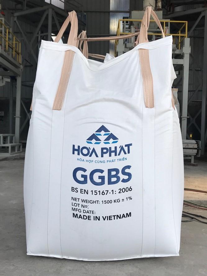 Biến xỉ hạt lò cao thành vật liệu xây dựng: HPG sẽ có thêm hàng trăm tỷ đồng mỗi năm ảnh 1