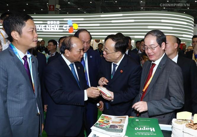 Chuyến đi 'xúc tiến thương mại' cho nông sản, hàng hóa Việt của Thủ tướng ảnh 1