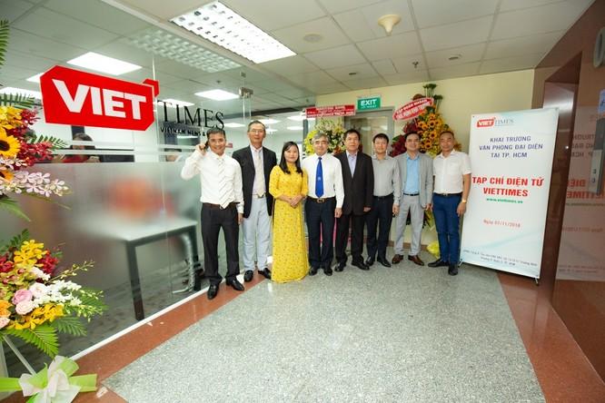 VietTimes chính thức khai trương Văn phòng đại diện tại Tp. HCM ảnh 9