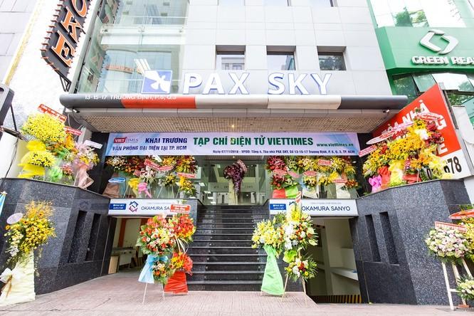 VietTimes chính thức khai trương Văn phòng đại diện tại Tp. HCM ảnh 1