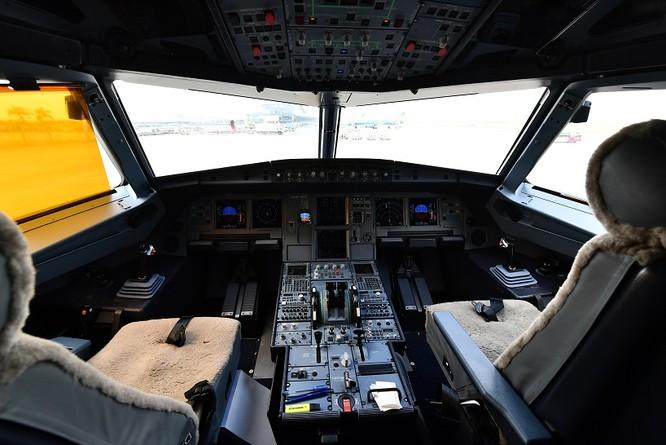 Ngắm máy bay A321neo - lớn nhất gia đình A320, có cả hệ thống giải trí không dây - mà Vietnam Airlines vừa nhập về ảnh 4