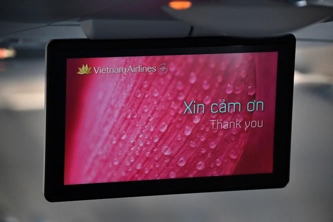 Ngắm máy bay A321neo - lớn nhất gia đình A320, có cả hệ thống giải trí không dây - mà Vietnam Airlines vừa nhập về ảnh 6