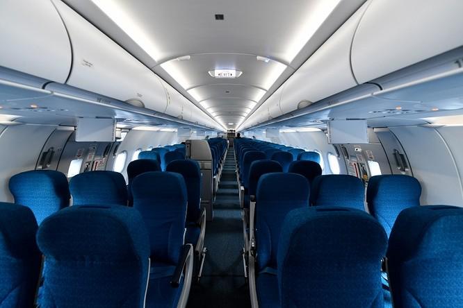 Ngắm máy bay A321neo - lớn nhất gia đình A320, có cả hệ thống giải trí không dây - mà Vietnam Airlines vừa nhập về ảnh 5