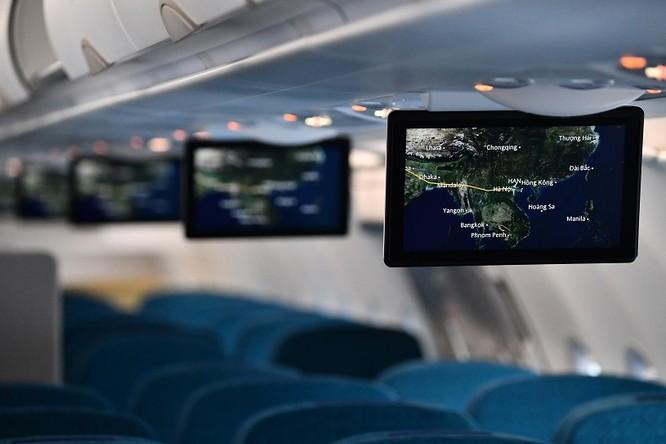 Ngắm máy bay A321neo - lớn nhất gia đình A320, có cả hệ thống giải trí không dây - mà Vietnam Airlines vừa nhập về ảnh 3