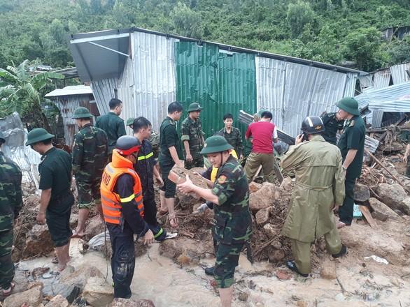 Thủ tướng công điện gửi lời thăm hỏi, chia buồn sâu sắc tới nạn nhân mưa lũ ảnh 1