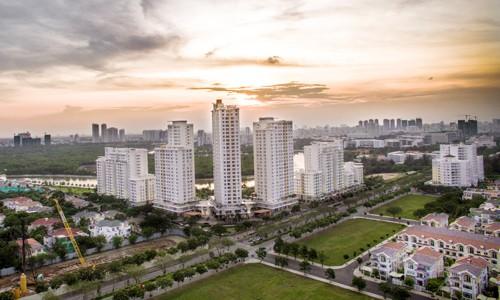 Thị trường bất động sản phía Nam TP HCM. Ảnh: Lucas Nguyễn