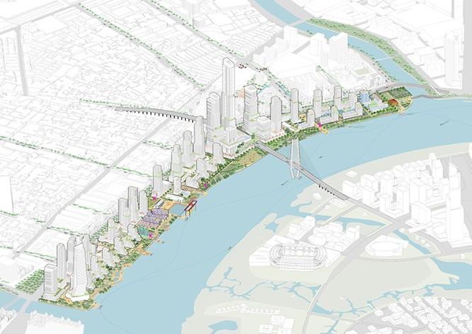 Bóng dáng khu phức hợp ven sông Sài Gòn nhìn từ một bức hình minh họa ảnh 2