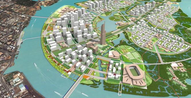 Bóng dáng khu phức hợp ven sông Sài Gòn nhìn từ một bức hình minh họa ảnh 3