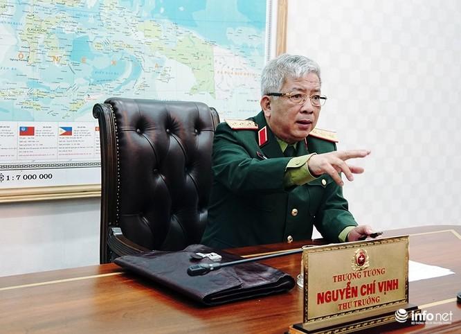 Thượng tướng Nguyễn Chí Vịnh: Chúng ta phải bước vào chiến tranh vì sự sinh tồn của nhân dân mình ảnh 1