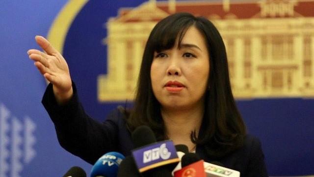 Bộ Ngoại giao Việt Nam lên tiếng việc chiến hạm Mỹ áp sát Hoàng Sa ảnh 1