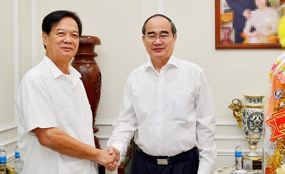 Đại tướng Lê Hồng Anh mong muốn TPHCM sớm giải quyết dứt điểm những vấn đề liên quan đến Thủ Thiêm ảnh 2