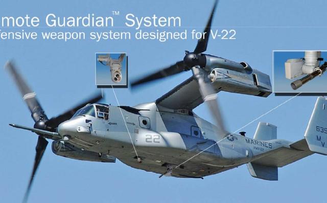 """Xuất hiện """"siêu máy bay"""" MV-22 Osprey trên bầu trời Đà Nẵng ảnh 3"""