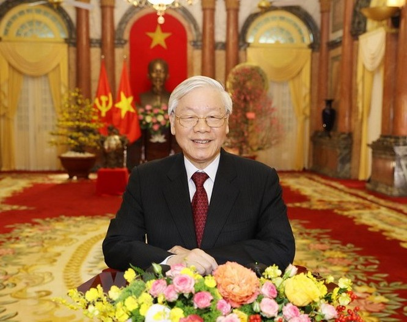 Tổng Bí thư, Chủ tịch nước Nguyễn Phú Trọng: Xuân này hơn hẳn mấy xuân qua ảnh 1