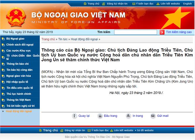 Ông Kim Jong Un sẽ thăm chính thức Việt Nam: Chuyến thăm lịch sử sau 60 năm ảnh 1