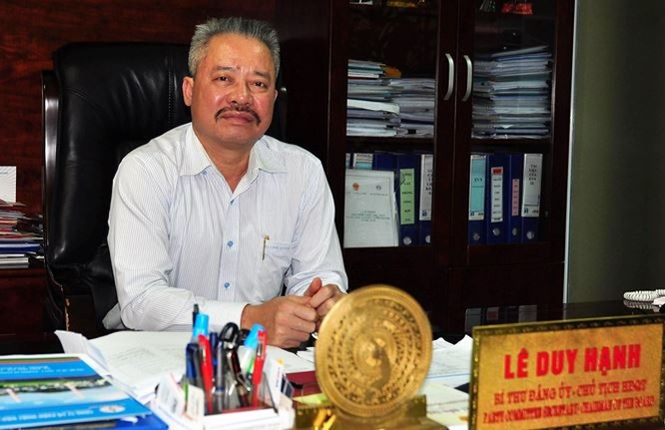 """Không lâu trước ngày bị bắt, Chủ tịch Nhiệt điện Quảng Ninh Lê Duy Hạnh đã được EVN tặng bằng khen vì """"hoàn thành xuất sắc nhiệm vụ"""" ảnh 2"""