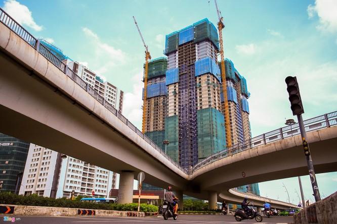 'Rung be tong' tai khu do thi xa hoa tren duong Nguyen Huu Canh hinh anh 13