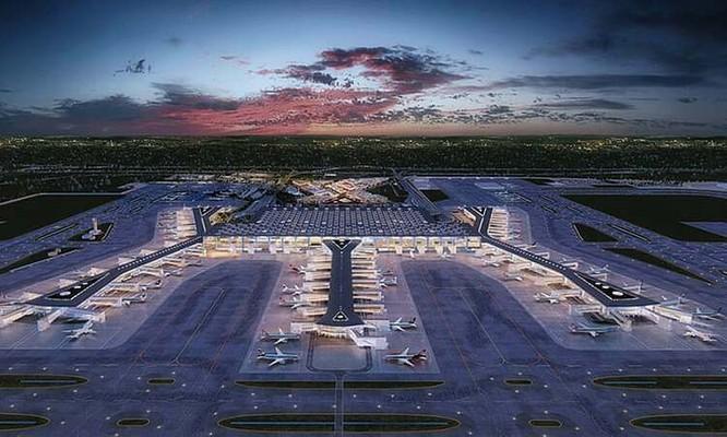 Sân bay Istanbul sẽ phục vụ 200 triệu hành khác mỗi năm khi hoàn tất. Ảnh: Istanbul New Airport