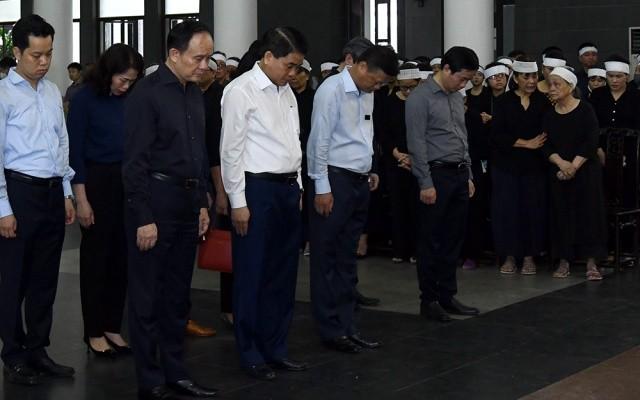 Cử hành trọng thể lễ tang đồng chí Nguyễn Đình Hương ảnh 9