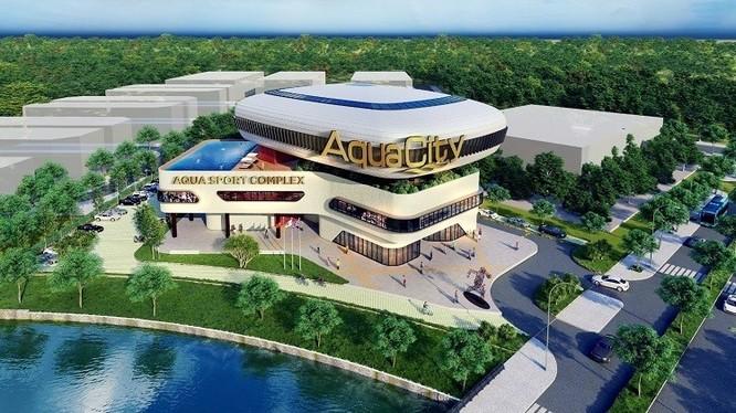 Chuỗi tiện ích hiện đại, hoàn chỉnh đáp ứng nhu cầu an cư của cư dân tại Aqua City