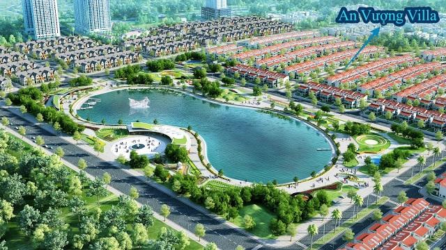 Hồ điều hòa Bách Hợp Thủy - Một tiện ích nội khu bên trong dự án