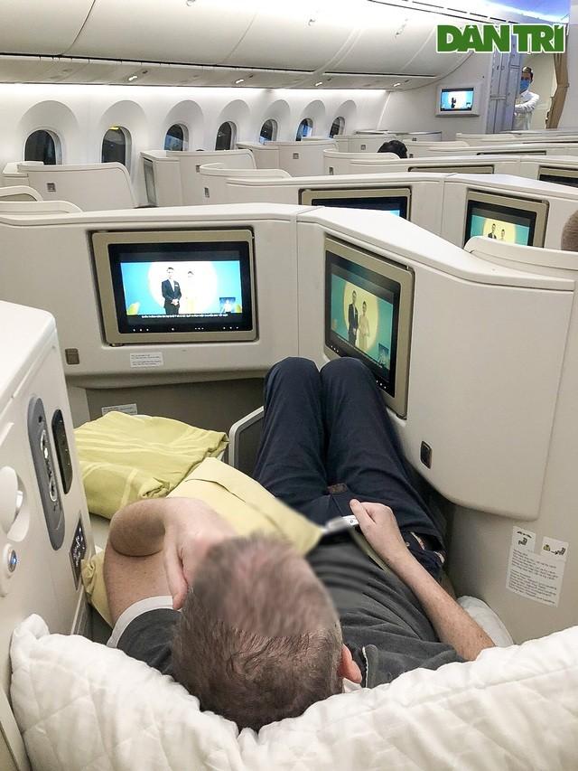 Chiếc máy bay chở bệnh nhân 91 hồi hương hiện đại như thế nào? ảnh 4