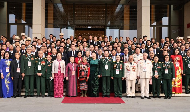 Madame Nguyễn Thị Nga tham dự Đại hội Thi đua yêu nước toàn quốc ảnh 1