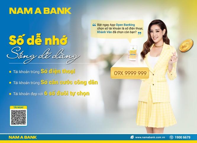 Sở hữu tài khoản số đẹp như ý với nhiều ưu đãi tại Nam A Bank ảnh 1