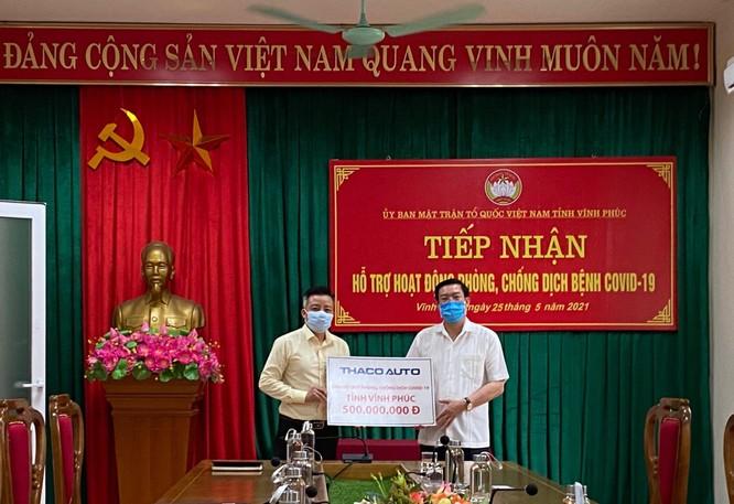 THACO AUTO ủng hộ 1,5 tỷ đồng cho 3 địa phương chống dịch ảnh 3