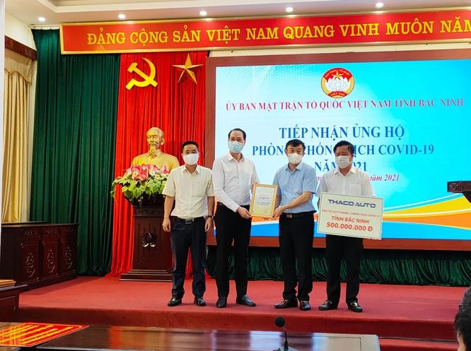 THACO AUTO ủng hộ 1,5 tỷ đồng cho 3 địa phương chống dịch ảnh 2