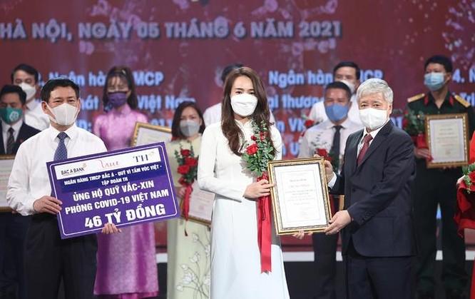 Ngân hàng Bắc Á trao 46 tỷ đồng cho Quỹ vaccine Covid-19 ảnh 1