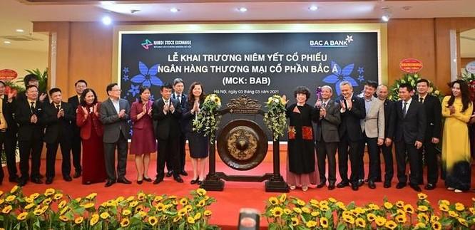 Ngân hàng Bắc Á niêm yết cổ phiếu trên HNX ảnh 1
