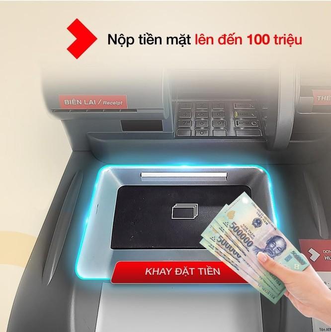 Techcombank thêm tiện ích trên hệ thống ATM Thế hệ mới: Giao dịch an toàn - Nhanh chóng - Thuận tiện trong bối cảnh COVID-19 ảnh 1