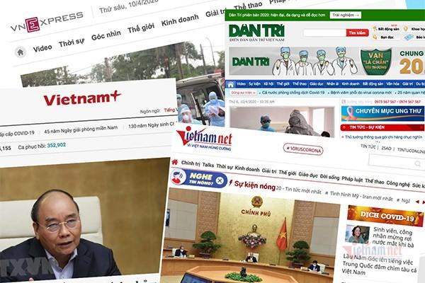 Phần lớn các tờ báo mạng tại Việt Nam đều chưa có được nguồn từ độc giả.Ảnh: Trọng Đạt