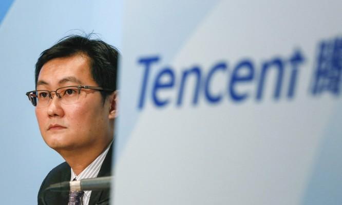 Chủ tịch kiêm CEO Tencent Pony Ma Huateng. Ảnh: AP.