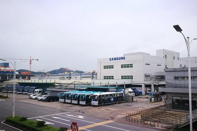Vào năm 2019, Samsung cũng đóng cửa nhà máy sản xuất smartphone cuối cùng của mình tại Trung Quốc ở Huệ Châu. Ảnh: SCMP.
