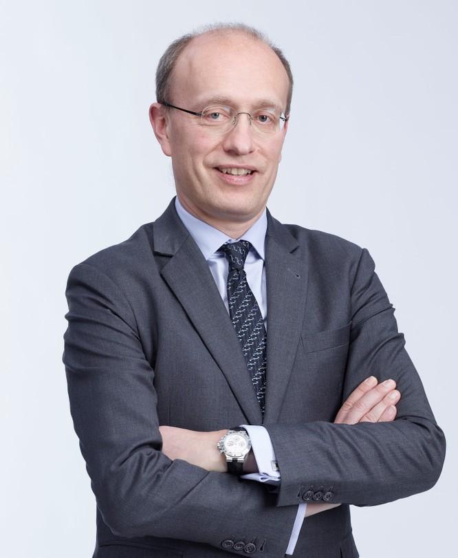 ông Jens Lottner - Tổng Giám đốc Techcombank