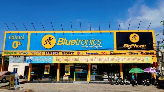 Chuỗi cửa hàng Bluetronics tại Thái Lan của MWG (Nguồn: MWG)