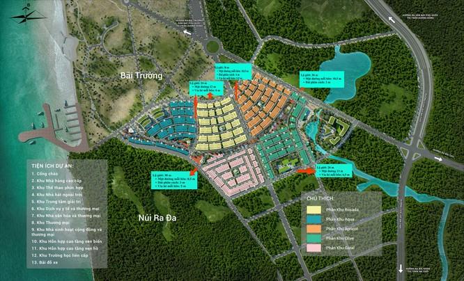 Mặt bằng tổng thể toàn khu Meyhomes Capital Phú Quốc (Nguồn: Meyland)