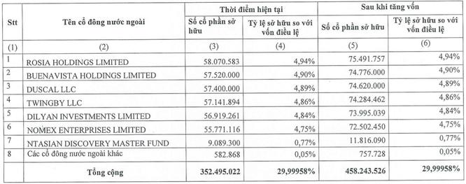 6 cổ đông ngoại nắm 30% vốn MSB ảnh 1