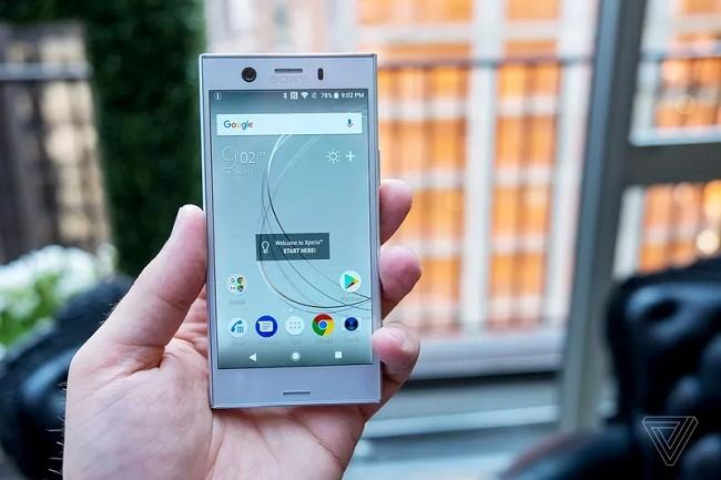 Sony Xperia XZ1 và XZ1 Compact: thiết kế không ấn tượng, cài sẵn Android Oreo ảnh 2