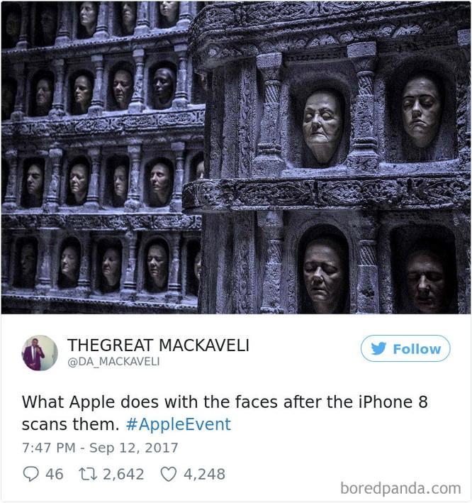 Cười đau ruột với những tấm ảnh chế iPhone X ảnh 4